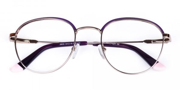 Dark-Purple-Silver-Round-Aviator-Glasses-6