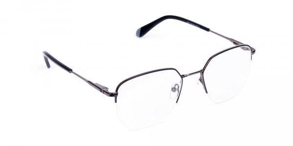 Black-Gunmetal-Geometric-Aviator-Glasses-2