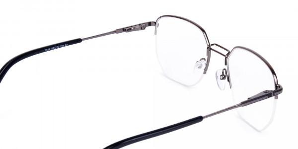 Black-Gunmetal-Geometric-Aviator-Glasses-5