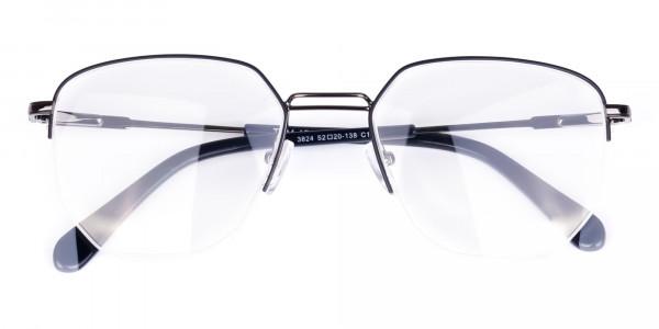 Black-Gunmetal-Geometric-Aviator-Glasses-6
