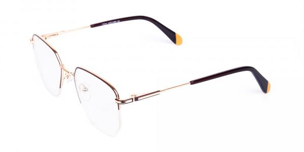 Brown-Gold-Geometric-Aviator-Glasses-3