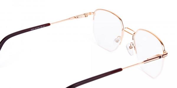 Brown-Gold-Geometric-Aviator-Glasses-5