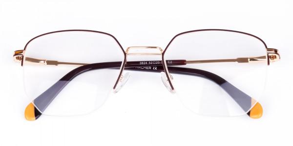Brown-Gold-Geometric-Aviator-Glasses-6
