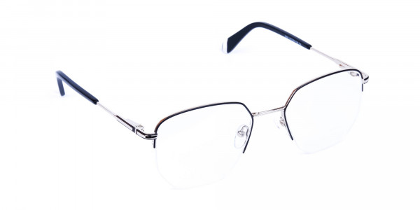 Black-Silver-Geometric-Aviator-Glasses-2