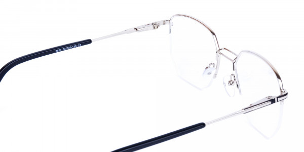 Black-Silver-Geometric-Aviator-Glasses-5
