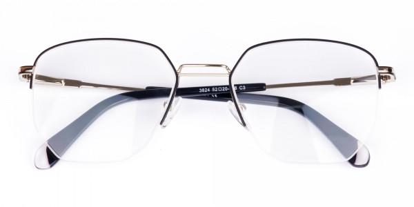 Black-Silver-Geometric-Aviator-Glasses-6