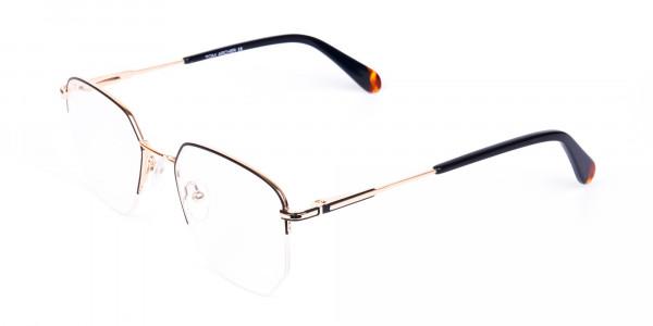 Black-Gold-Geometric-Aviator-Glasses-3