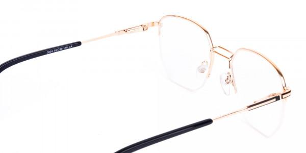 Black-Gold-Geometric-Aviator-Glasses-5