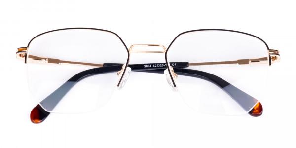 Black-Gold-Geometric-Aviator-Glasses-6