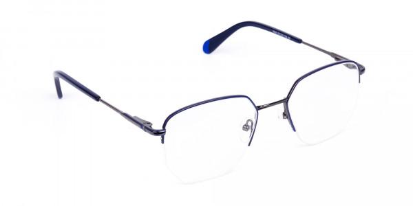 Navy-Blue-Gunmetal-Geometric-Aviator-Glasses-2