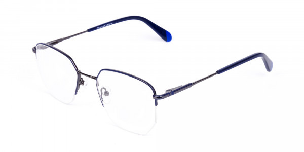 Navy-Blue-Gunmetal-Geometric-Aviator-Glasses-3