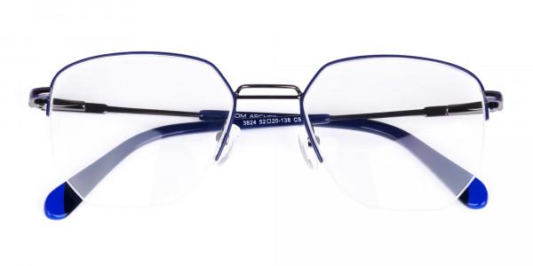 Navy-Blue-Gunmetal-Geometric-Aviator-Glasses-6