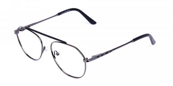 Classic-Black-Gunmetal-Aviator-Glasses-3