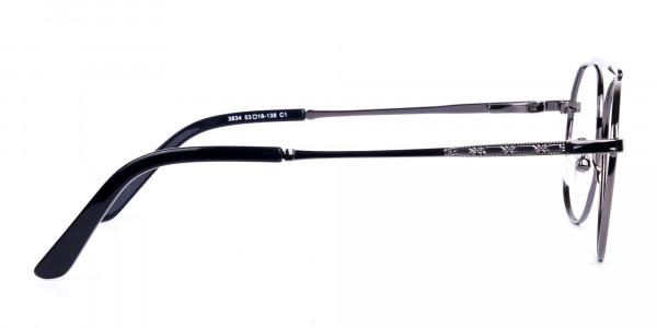 Classic-Black-Gunmetal-Aviator-Glasses-4