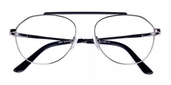 Classic-Black-Gunmetal-Aviator-Glasses-6