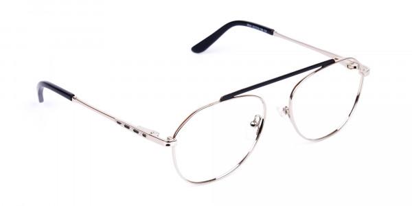 Black-Silver-Aviator-Glasses-2