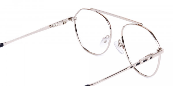Black-Silver-Aviator-Glasses-5