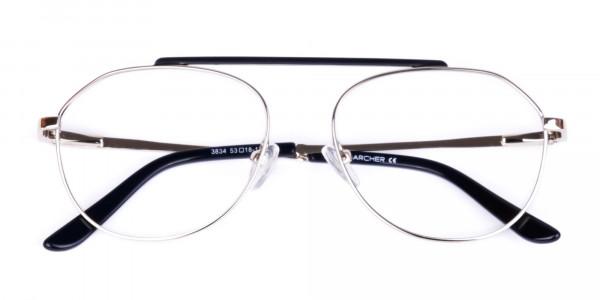 Black-Silver-Aviator-Glasses-6