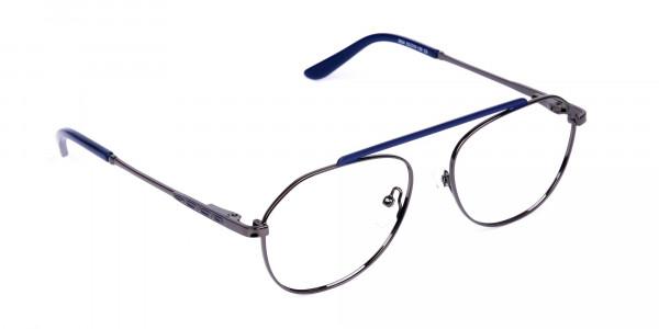 Royal-Blue-Gunmetal-Aviator-Glasses-2