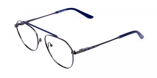 Royal-Blue-Gunmetal-Aviator-Glasses-3