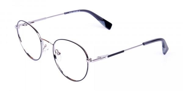 Stylish-Black-Silver-Round-Glasses-3