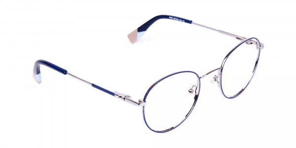 Dark-Navy-Blue-and-Silver-Round-Glasses-2