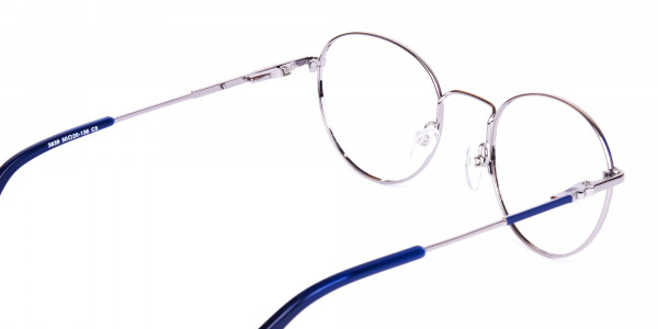 Dark-Navy-Blue-and-Silver-Round-Glasses-5