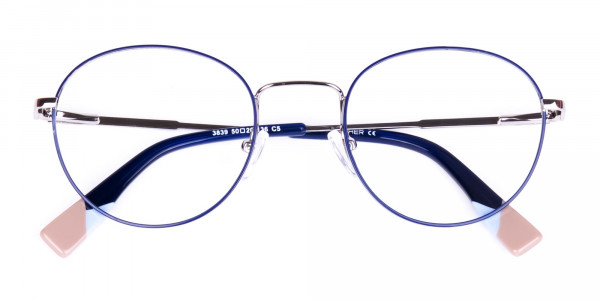 Dark-Navy-Blue-and-Silver-Round-Glasses-6