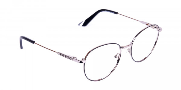 Classic-Black-and-Silver-Round-Glasses-2