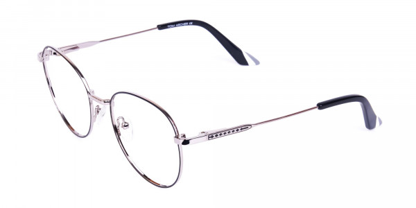 Classic-Black-and-Silver-Round-Glasses-3