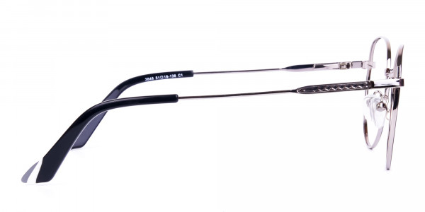 Classic-Black-and-Silver-Round-Glasses-4