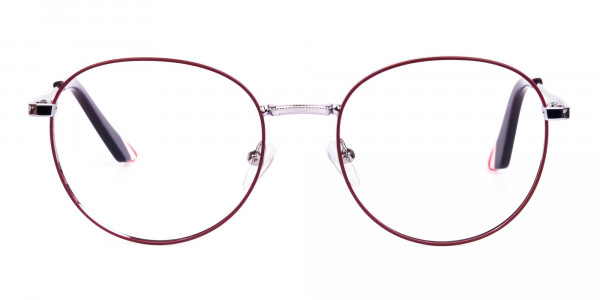 Burgundy-and-Silver-Round-Glasses-1