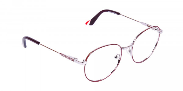 Burgundy-and-Silver-Round-Glasses-2