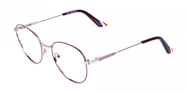 Burgundy-and-Silver-Round-Glasses-3
