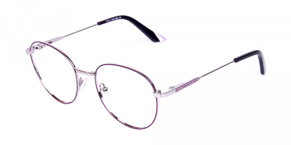 Purple-and-Silver-Metal-Round-Glasses-3