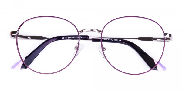 Purple-and-Silver-Metal-Round-Glasses-6