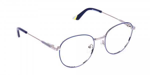 Navy-Blue-and-Silver-Metal-Round-Glasses-2