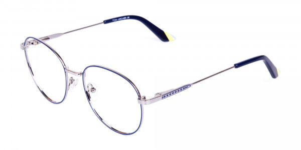 Navy-Blue-and-Silver-Metal-Round-Glasses-3
