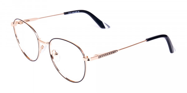 Black-and-Gold-Round-Glasses-3