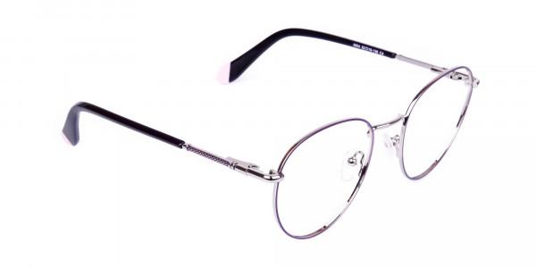 Dark-Purple-and-Silver-Round-Glasses-2
