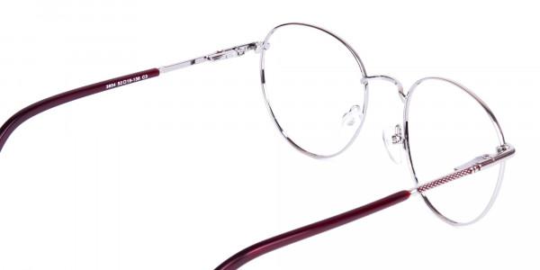 Dark-Purple-and-Silver-Round-Glasses-5
