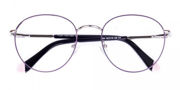 Dark-Purple-and-Silver-Round-Glasses-6