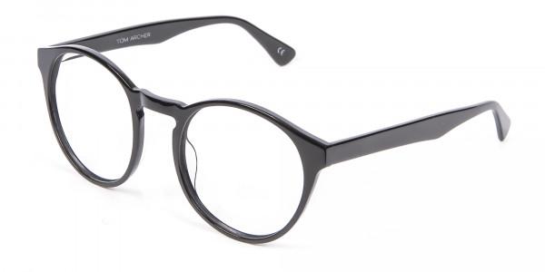 Smooth Dark Quality Eyeglasses - 2