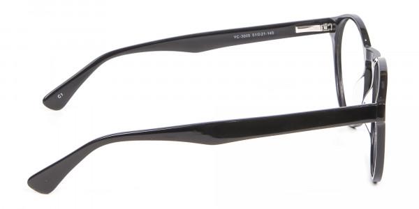 Smooth Dark Quality Eyeglasses - 3