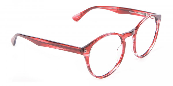 Marble Sunset Red Glasses - 1