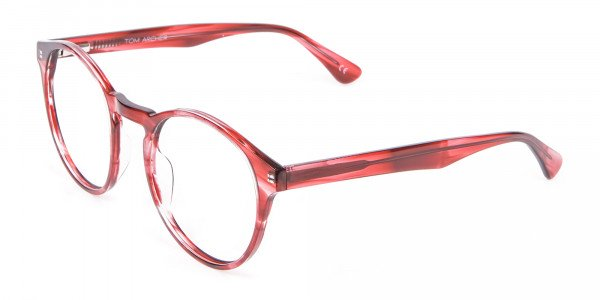 Marble Sunset Red Glasses - 2