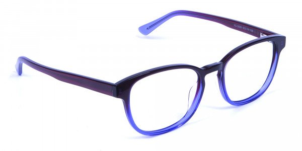 Purple Glasses for small face - 1