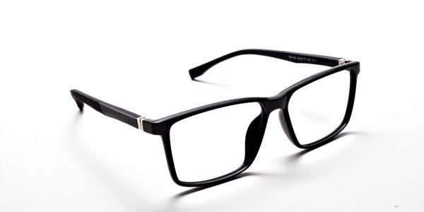 Black Matte Glasses -1