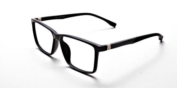 Black Matte Glasses -2