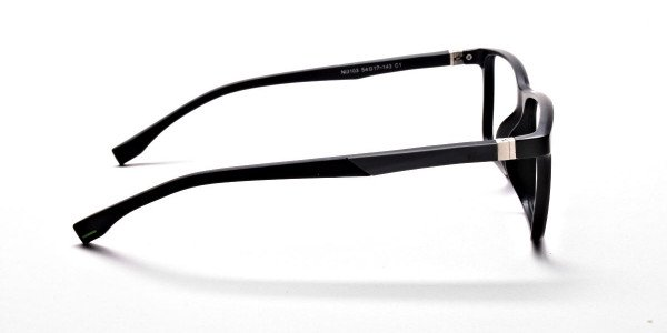 Black Matte Glasses -3
